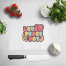 Love Peace Joy Chopping Board