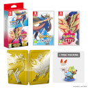 Pokémon Sword and Pokémon Shield Dual Pack + Figurine