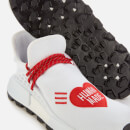 adidas X Pharrell Williams Men's NMD HU Human Made Trainers - White/Scarlet/Black