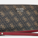 Guess Women's Multi Logo Wallet - Brown
