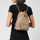 Guess Women's Leeza Small Backpack - Brown