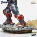 Iron Studios Avengers: Endgame BDS Art Scale Statue 1/10 Iron Patriot and Rocket 28cm