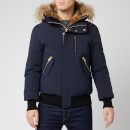 Mackage Men's Dixon Fur Bomber Jacket - Navy