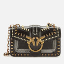 Pinko Women's Mini Love Mix Studs Bag - Black