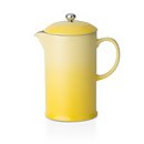 Le Creuset Stoneware Cafetiere Coffee Press - Soleil Yellow