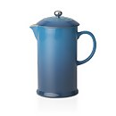 Le Creuset Stoneware Cafetiere Coffee Press - Marine
