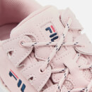 FILA Women's Provenance Trainers - Peachskin/Navy/White