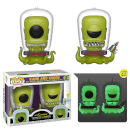 SDCC 2019 EXC The Simpsons Kang and Kodos 2 Pack Pop! Vinyl Figures