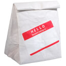 Sandwich Bag - Hello