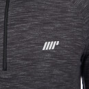 Performance 2 Pack 1/4 Zip Top - Charcoal Marl/Grey Marl - XS