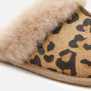 5f11653170c UGG Women's Scuffette II Leopard Slippers - Amphora