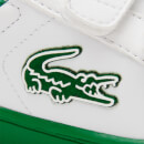 Lacoste Toddlers' Carnaby Evo Trainers - White/Green