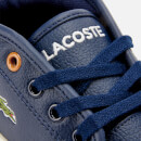 Lacoste Kids' Ampthill High Top Trainers - Navy/Tan