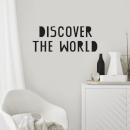 Discover The World Wall Decal