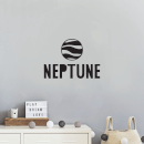 Neptune Wall Decal