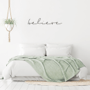 Believe Wall Decal