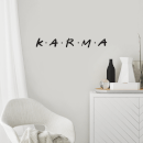 K.A.R.M.A Wall Decal