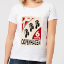 Mark Fairhurst Six Days Copenhagen Women's T-Shirt - White