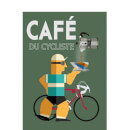 Mark Fairhurst Cafe Du Cycliste Women's T-Shirt - White