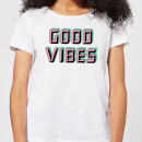 Good Vibes Women's T-Shirt - White