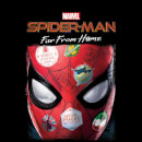 Spider-Man Far From Home Stickers Mask Men's T-Shirt - Black
