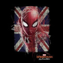 Spider-Man Far From Home British Flag Men's T-Shirt - Black