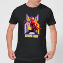 Spider Man Far From Home Friendly Neighborhood Spider-Man Men's T-Shirt - Black