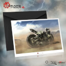 Gears of War 4 Collector's Edition - JD Fenix on COG Bike Premium Statue - 28cm