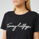 Tommy Hilfiger Women's Heritage Crewneck Graphic T-Shirt - Masters Black