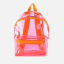 Eastpak Women's Authentic Transparent Orbit Backpack - Fluo Pink Film