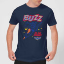 Toy Story 4 Buzz To The Rescue Men's T-Shirt - Navy
