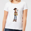 Toy Story 4 Woody And Forky Women's T-Shirt - White