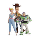 Toy Story 4 Woody Buzz And Bo Women's T-Shirt - White