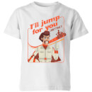 Toy Story 4 Ill Jump For You Kids' T-Shirt - White