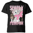 Disney Aristocats Simply Purrfect Kids' T-Shirt - Black