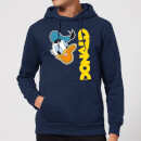 Disney Donald Duck Face Hoodie - Navy