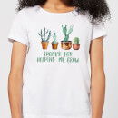 Thanks For Helping Me Grow Women's T-Shirt - White