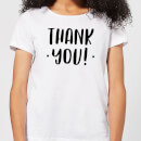 Thank You! Women's T-Shirt - White