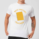 Best History Teacher Men's T-Shirt - White