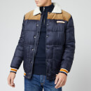 Superdry Men's Downhill Racer Box Quilt Jacket - True Navy