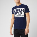 Superdry Men's Denim Goods Co T-Shirt - True Indigo