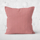 Tall Pine Tree Pattern Square Cushion