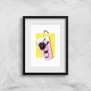 Lemonade With Background Art Print