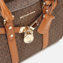 MICHAEL MICHAEL KORS Women's Nouveau Hamilton Small Satchel Bag - Brown/Acorn