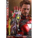 Hot Toys Avengers: Endgame MMS Diecast Action Figure 1/6 Iron Man Mark LXXXV Battle Damaged Version 32cm