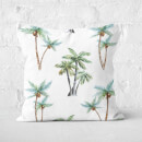 Tropical Trees Square Cushion