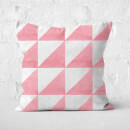 Aztec Triangles Square Cushion
