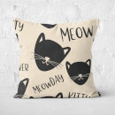 Meowday Square Cushion