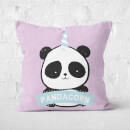 Pandacorn Square Cushion