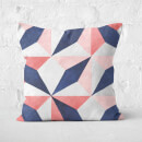 Aztec Diamonds Square Cushion
